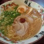 暖暮 - 煮玉子ラーメン 730円
