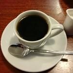 スパゲティーハウスポコ - ランチタイムはサービスになるコーヒー
