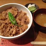 44638938 - 豚生姜焼き丼