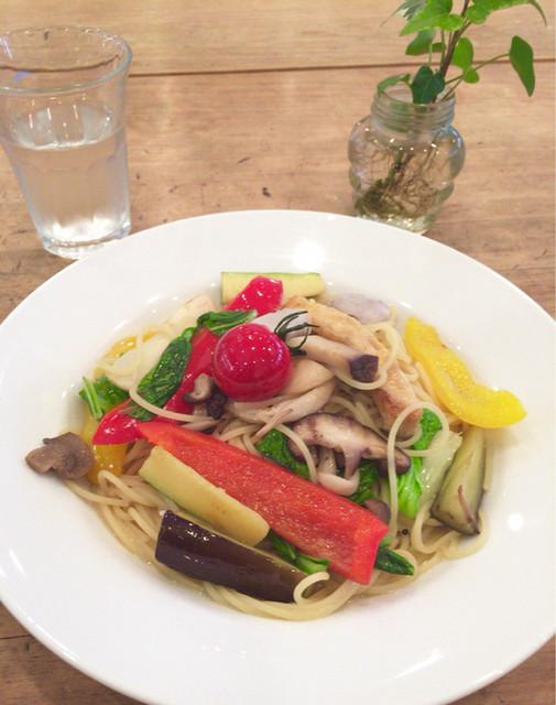 クルクル アトレヴィ巣鴨店 - お野菜パスタ