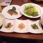 お野菜ダイニング ここから - 日替わりランチ850円(さわらの西京焼き)