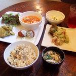 なぎ食堂 - ある日のランチプレート(1000円)