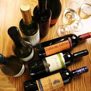 ワインにこだわる串揚げにピッタリなワインあります