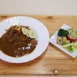 発酵食美人食堂 - 『寝かせ玄米®の塩糀カレー』 13:00~16:00