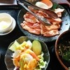 安楽亭 - 料理写真:ランチ豚カルビ799円(込