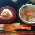カフェ月星 - 2015/11/20 ワンコインランチ ¥500