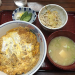 大橋屋 - カツ丼・1,000円