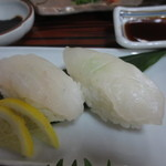 雲水 - クエ寿司