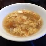 44645067 - 蟹と豆腐のスープ