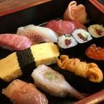 寿司元 - にぎり寿(2,500円)