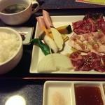 44648332 - 焼き肉定食