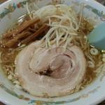 静雨庵 - ラーメン2015.11.18