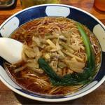 支那麺 はしご - 「搾菜麺(ざあさいめん)」650円