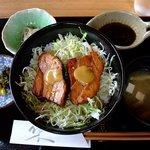 亜和膳 - 角煮丼定食