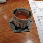 炭火割烹 蔓ききょう - お茶