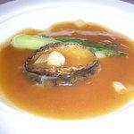 海鮮薬膳中華  トンフォン - 予約特典のアワビの姿煮