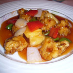 海鮮薬膳中華  トンフォン - キングポークの酢豚