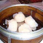 海鮮薬膳中華  トンフォン - 海老蒸し餃子