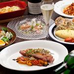 Fille et fils - 料理写真:3000円のコース料理です。