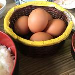 有精美容卵 コケコッコー共和国 山の駅よって亭 -