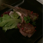 横浜肉バル 502 - 追加のラムチョップは美味