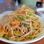 南京路 - 「鳥肉野菜辛みそ炒め定食(冷や奴付き)」