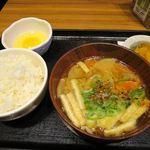 Tonkatsuginzabairin - 豚汁定食_2015