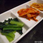 wagyuuyakinikubarukuramoto - 前菜3種