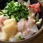 地酒と季節料理 おかやん - 海鮮納豆