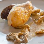 bistro BARNYARD - 岩手県産 清流若鶏のロースト 高知県から 柚子の香り(ランチ)【2015年11月訪問】