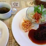 レストラン サカミティー - ランパスのハンバーグランチ