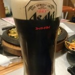 でじにらんど - 黒生ビール¥157