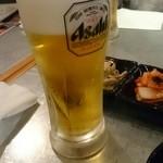 でじにらんど - 生ビール¥157