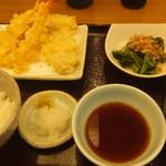 天丼てんや - 海幸天ぷら定食