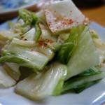 銀座 - この白菜漬けもおいしいですよ