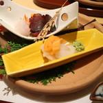 44659891 - 本日の天然魚三種の彩り