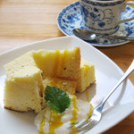 ギャラリー ぽっぽ - オーガニックコーヒーとオレンジのシフォン