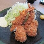 むさしや - 大海老フライ(限定品:1600円)