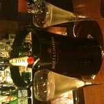 テンダー - モエシャンドンで乾杯♪