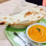インドカレーレストラン マサラ - バターナンでかい+パターチキンカレー797円