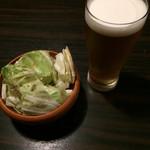 町田テラス - エクストラコールドとキャベツ