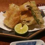 かわぐち - 穴子天ぷら