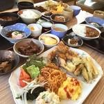 長良川サービスエリア(下り線)レストラン - ✨朝食バイキング✨890yen  気張ったけど完食できず(⌇ຶД⌇ຶ)おいちかったー