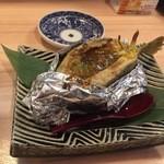 44664134 - ハコフグ味噌焼き