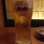 しゃぶしゃぶ温野菜 - ドリンク写真:アサヒビール飲み放題♪