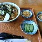 そば処 菖蒲庵 - 山菜そば1030円