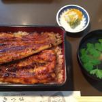 さくめ - 浜名湖産天然鰻重の大(3,900円)