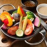 ロースト野菜のバーニャカウダ