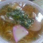 真木食堂 - 中華そば650円