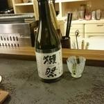 割烹 山さき - 日本酒:獺祭(だっさい)
